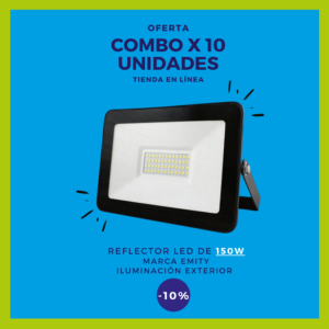 REFLECTOR LED 150W Combo x 10 uds